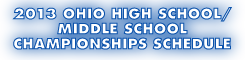 2013 Ohio High School/Middle School Chess Championships